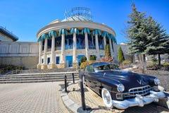Niagara, Ontario-27 April, 2018: De Niagarastad scen de stad in dichtbij royalty-vrije stock foto's