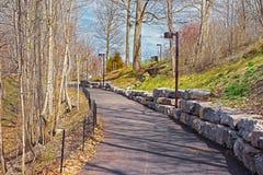 Niagara-Park bei Niagara Falls Stockfotos