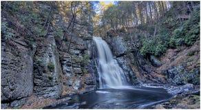 Bushkill Falls `Niagara of Pennsylvania` 2 stock photo