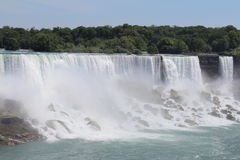 Niagara piękno fotografia royalty free