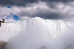 Niagara poderoso Foto de archivo libre de regalías