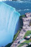 Niagara prcipice Royalty Free Stock Images