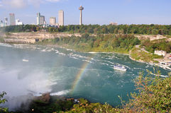 Niagara river Royalty Free Stock Photos