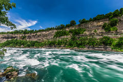 Niagara river Royalty Free Stock Photography