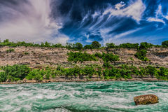 Niagara river Stock Photography