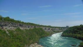 Niagara River Class 6 Rapids royalty free stock photo