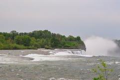 The Niagara River and falls Stock Photos