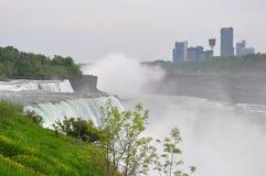 The Niagara River and falls Royalty Free Stock Photos