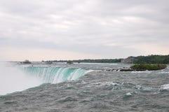 The Niagara River and falls Royalty Free Stock Photo