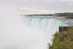 The Niagara River and falls Stock Photo