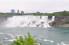 The Niagara River and falls Stock Photography