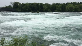 Niagara River Flow stock video