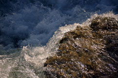 Niagara River forsar Royaltyfria Foton