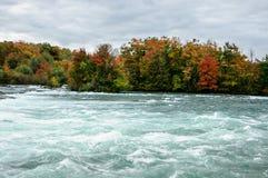 Niagara River NY, USA Royaltyfri Fotografi