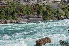 Niagara river rapids. Royalty Free Stock Photo