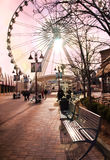 Niagara Sky Wheel Royalty Free Stock Photo