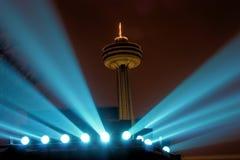 Niagara Skylon Tower at Night Royalty Free Stock Image