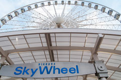 Niagara SkyWheel during summer Royalty Free Stock Photos
