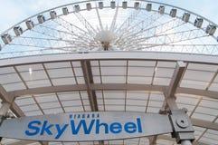 Niagara SkyWheel under sommar Royaltyfria Foton