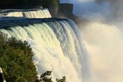 Niagara Spada Blisko Zdjęcia Stock