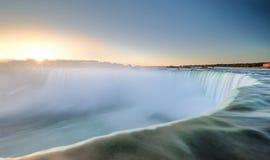 Niagara Spada podkowa Zdjęcia Stock