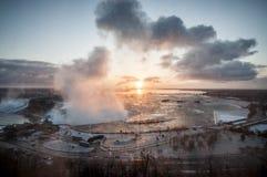 Niagara spadki Obraz Royalty Free