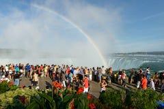Niagara Spadek Obrazy Royalty Free