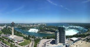Niagara spadków amerykanina spadków bridal przesłona spada siklawa Obrazy Royalty Free