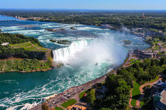 Niagara spadki fotografia royalty free
