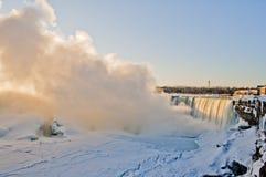 Niagara spadki 04 - wschód słońca - Obraz Royalty Free