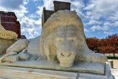 Niagara Square - Buffalo, New York Royalty Free Stock Images