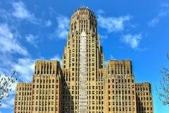 Niagara Square - Buffalo, New York stock photos