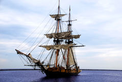 Niagara Tallship sails up Stock Images