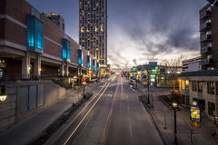 Niagara ulicy scena Fotografia Royalty Free