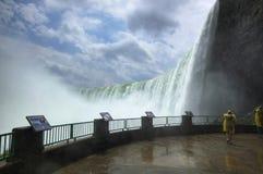 Niagara valt gezichten Royalty-vrije Stock Foto's