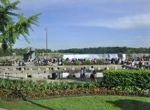 Niagara valt, 24 Juni: De grote meningsplaats van Niagara valt van de Provincie van Ontario van Canada Stock Foto's