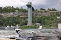 Niagara valt, 24 Juni: De Kant van Verenigde Staten van Niagara-Dalingen Royalty-vrije Stock Afbeelding