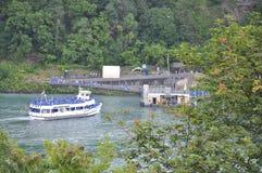 Niagara valt, 24 Juni: De Kant van Verenigde Staten van Niagara-Dalingen Stock Fotografie