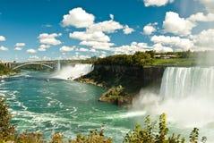 Niagara vattenfall Fotografering för Bildbyråer