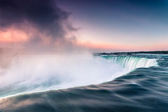 Niagara vattenfall Kanada Nordamerika Fotografering för Bildbyråer