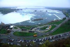 Niagara-Wasserfälle Stockfotos