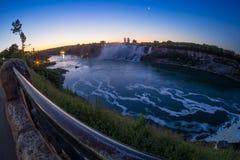 Niagara-Wasserfall Stockfoto