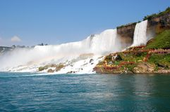The Niagara waterfall Stock Images