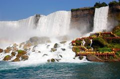 Niagara waterfall Stock Photography