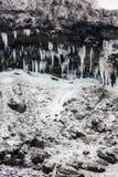 Niagara waterfall in winter Stock Photo