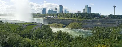 Niagara waterfalls panorama Stock Image