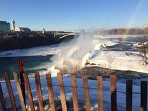 Niagara zima się Zdjęcia Stock