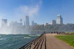 Niagaradalingen in de herfst, de V.S. Stock Afbeelding