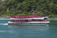 Niagaradalingen Tourboat Royalty-vrije Stock Fotografie