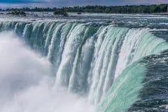 Niagaradalingen van de Canadese kant Stock Afbeelding
